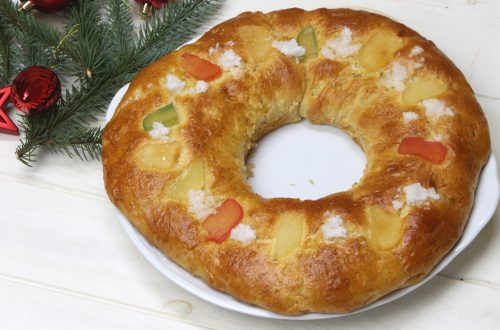 Receta de roscón de Reyes sin masa madre con Mambo