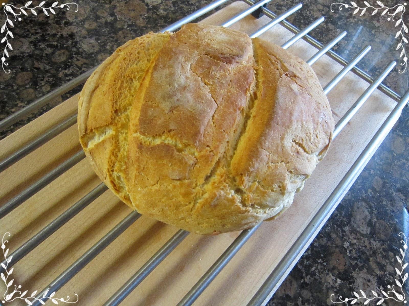 Pan rápido sin levado, con horno en frío