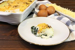 Receta de huevos a la florentina con Thermomix