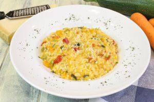 Receta de risotto de verduras con Thermomix