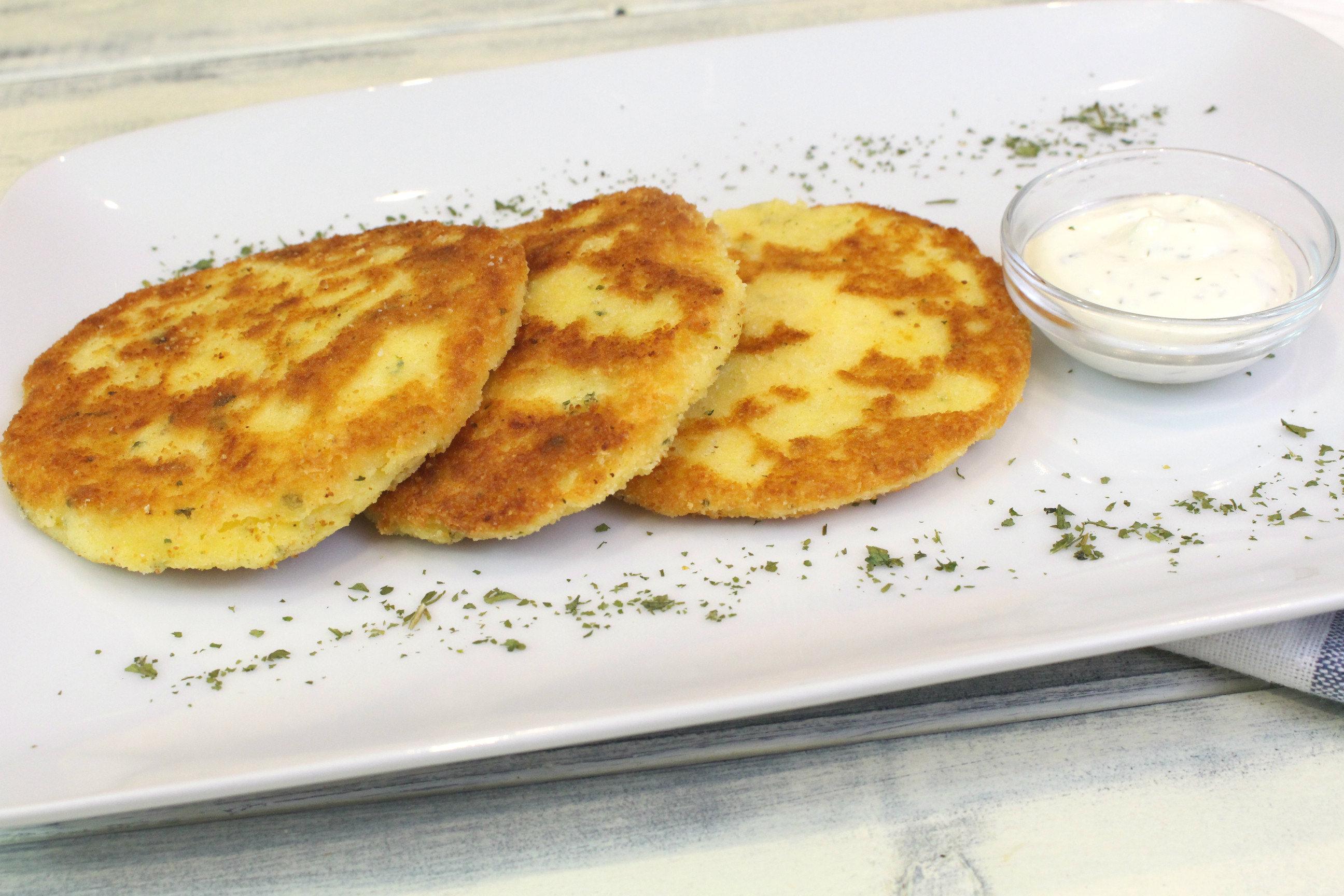 Receta de tortitas de patata