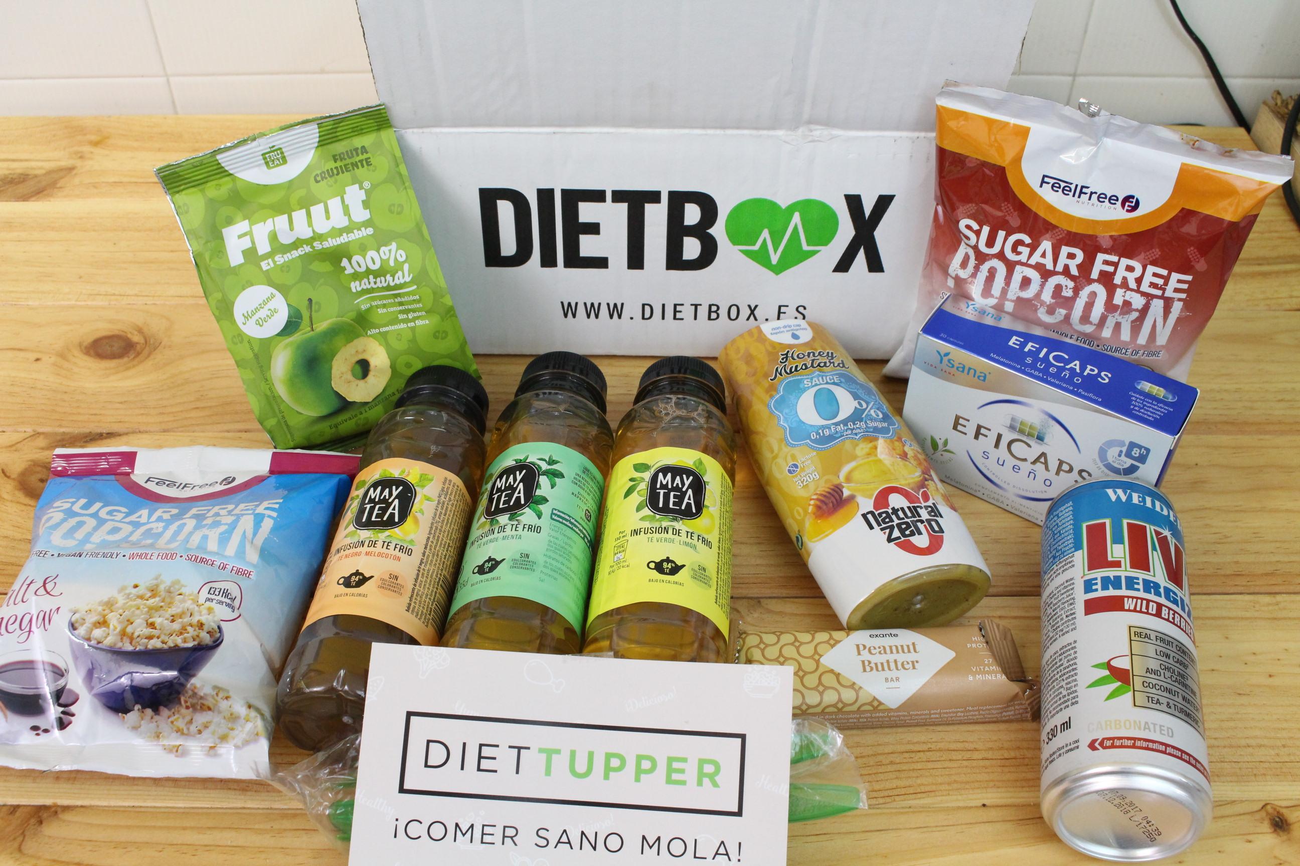 Dietbox de Septiembre 2018