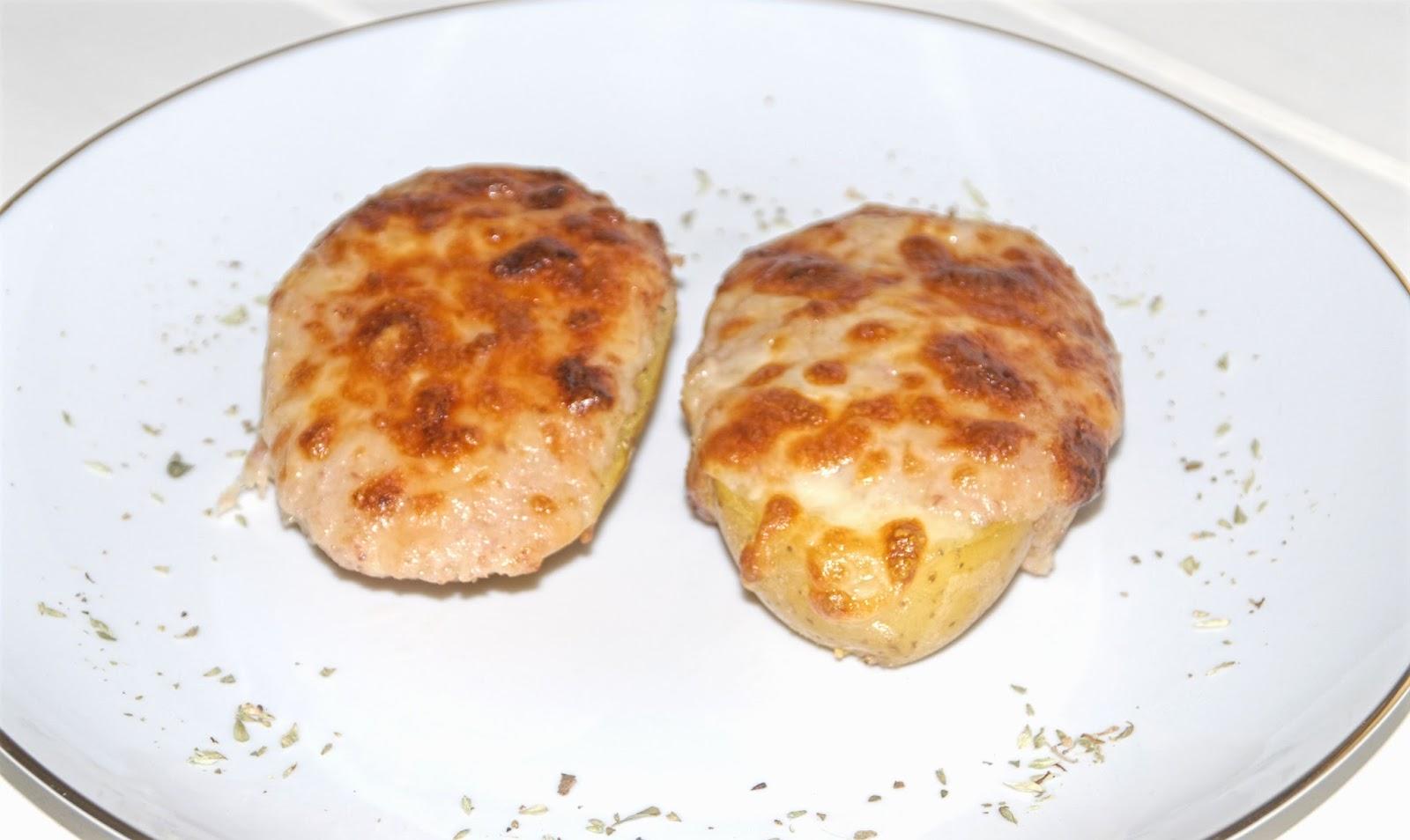Receta de patatas rellenas con Thermomix