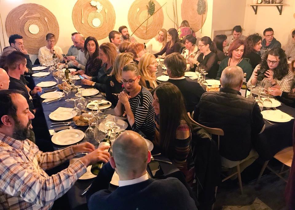 Foto de la cata de vinos de vinoteo