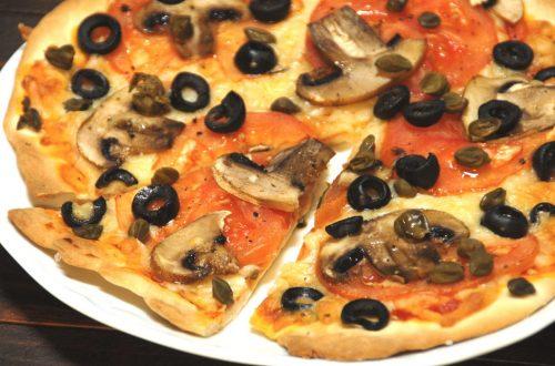 Receta de pizza caprichosa con Thermomix