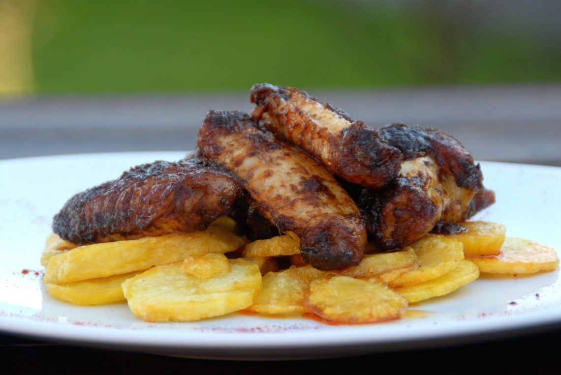 Receta de alitas de pollo al pimentón de la vera.