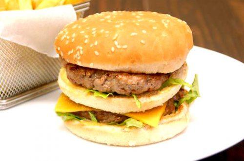 Receta de hamburguesa Big Mac casera