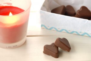 Receta de bombones fáciles de chocolate