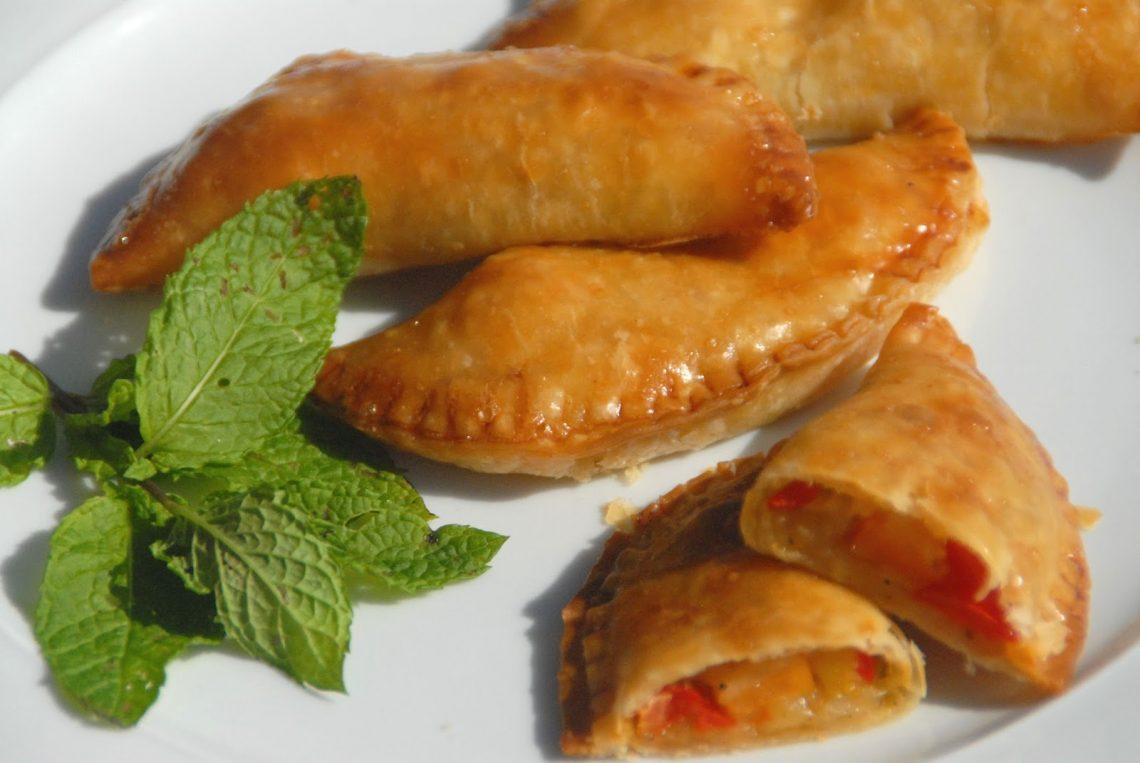 Receta de empanadillas de verduras al horno