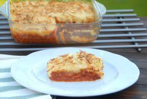 Receta de pastel de carne y patata