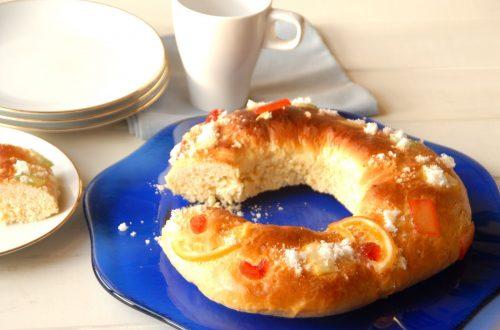 Receta de Roscón de Reyes sin masa madre con Thermomix