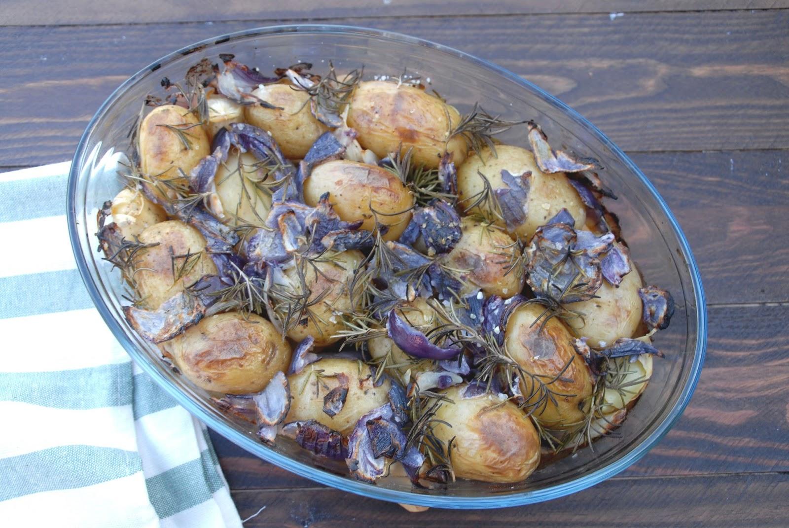 Receta de patatas al romero con Thermomix