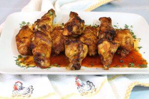 Receta de alitas de pollo al mojo picón