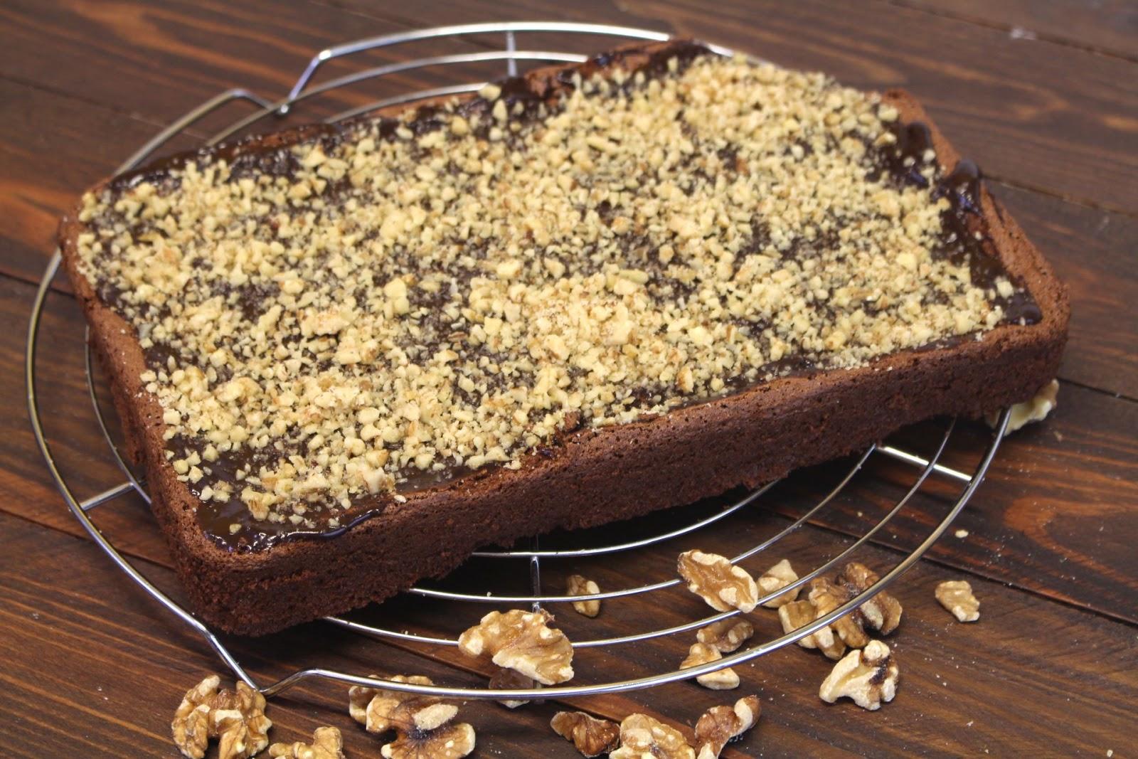 Receta de brownie o bizcocho de chocolate sin gluten