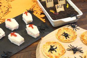 Receta de merienda fácil y rápida de Halloween