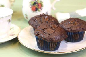 Receta de muffins de chocolate muy esponjosos