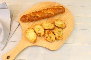 Receta de pan de ajo con o sin queso
