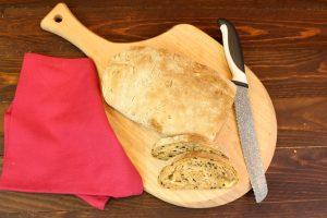 Receta de pan de pizza con o sin Thermomix