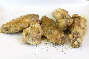 Receta de pollo al ajillo con Thermomix