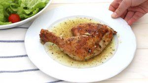 Receta de pollo asado a mi manera