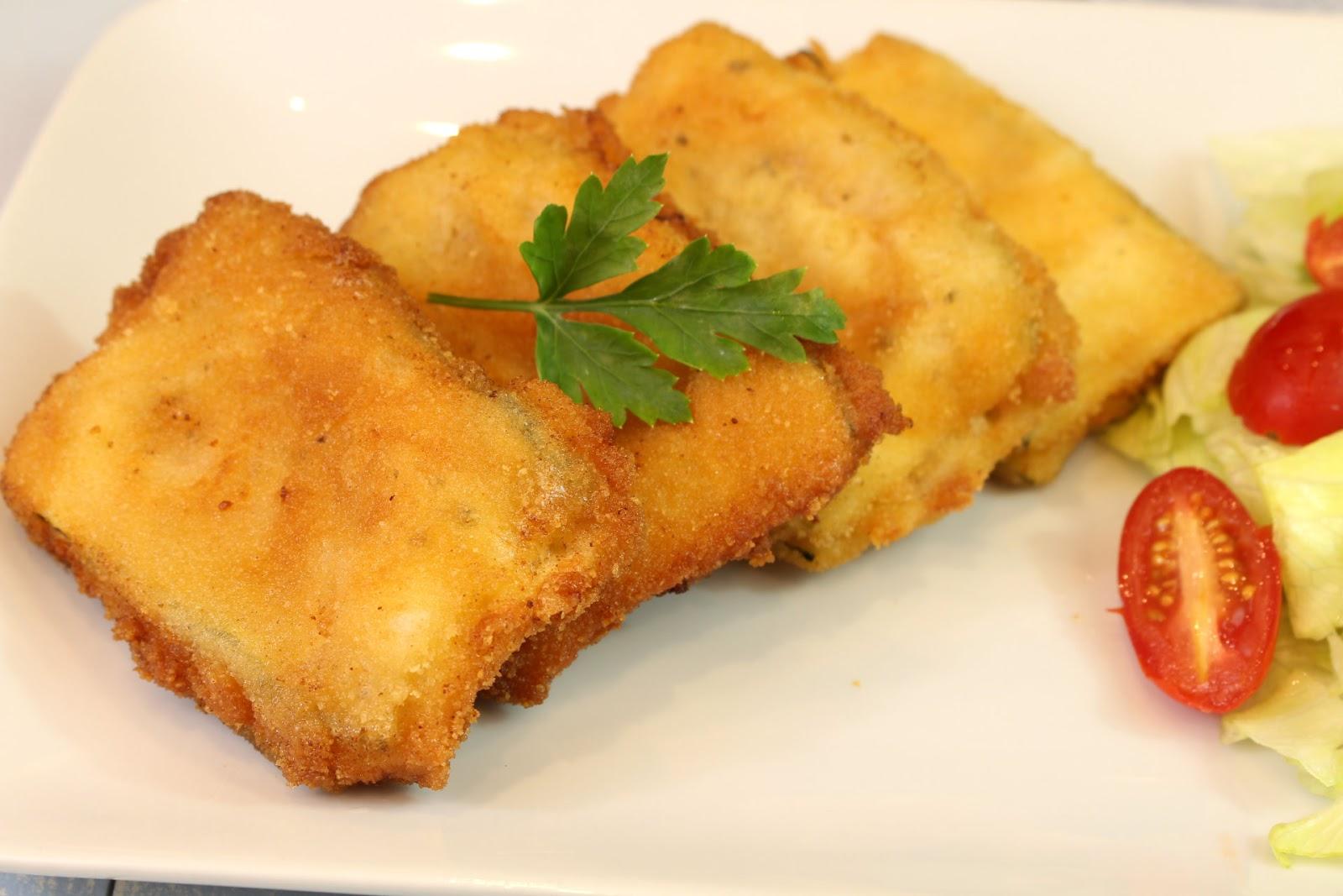 San Jacobos De Calabacín Receta Deliciosa Saltando La Dieta