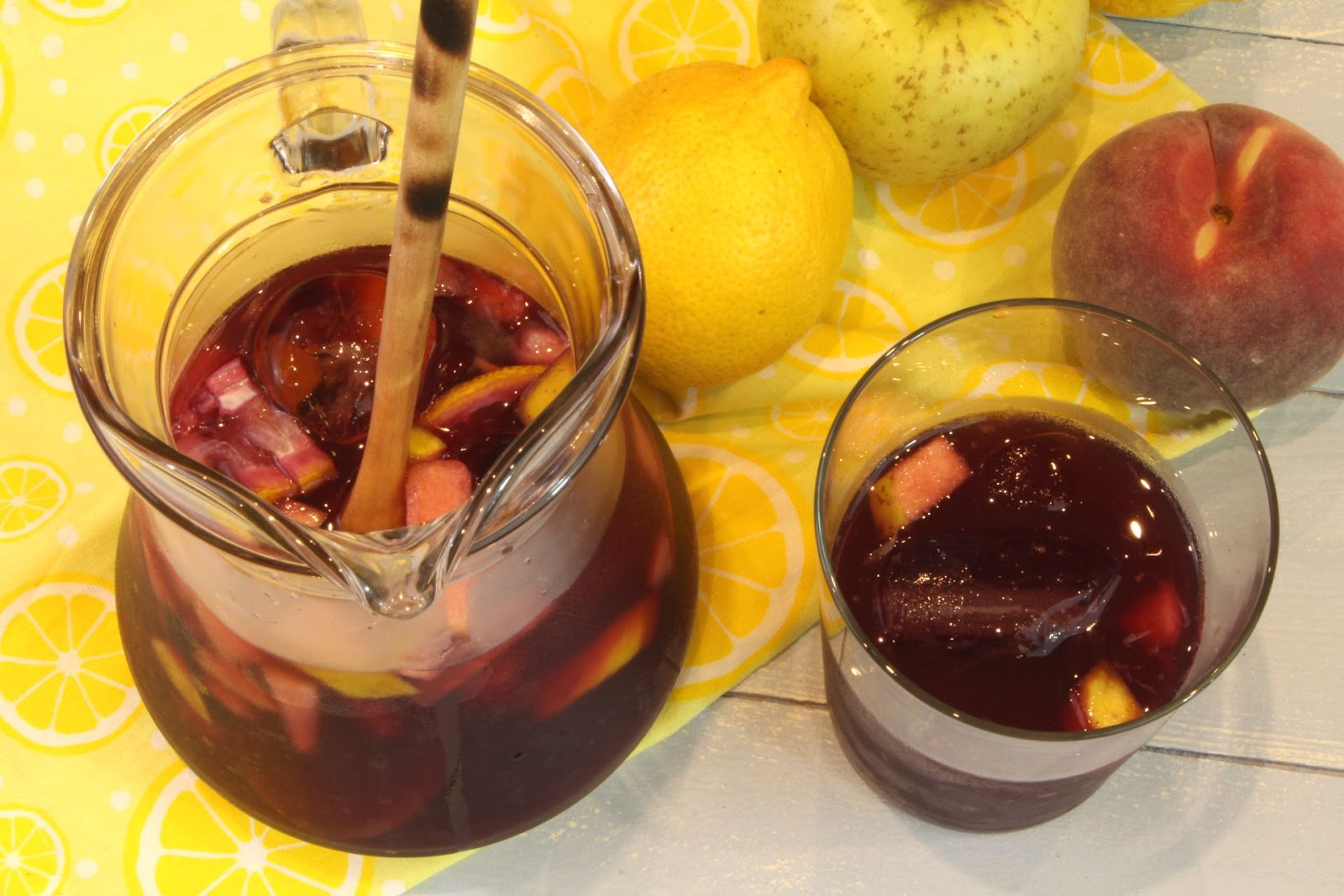 Receta de sangría de vino