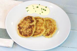 Receta de tortitas de coliflor y zanahoria con o sin Thermomix