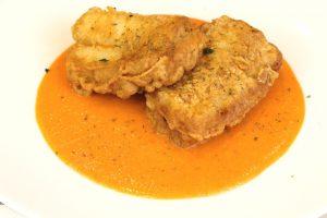 Receta de bacalao al pimentón en salsa