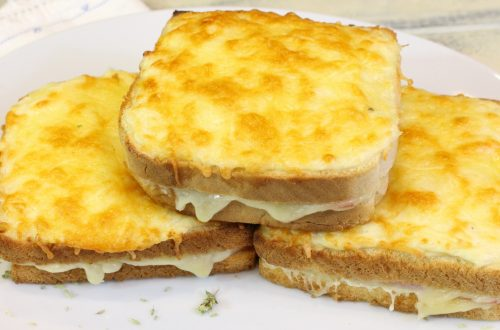 Receta de sandwich croque monsieur