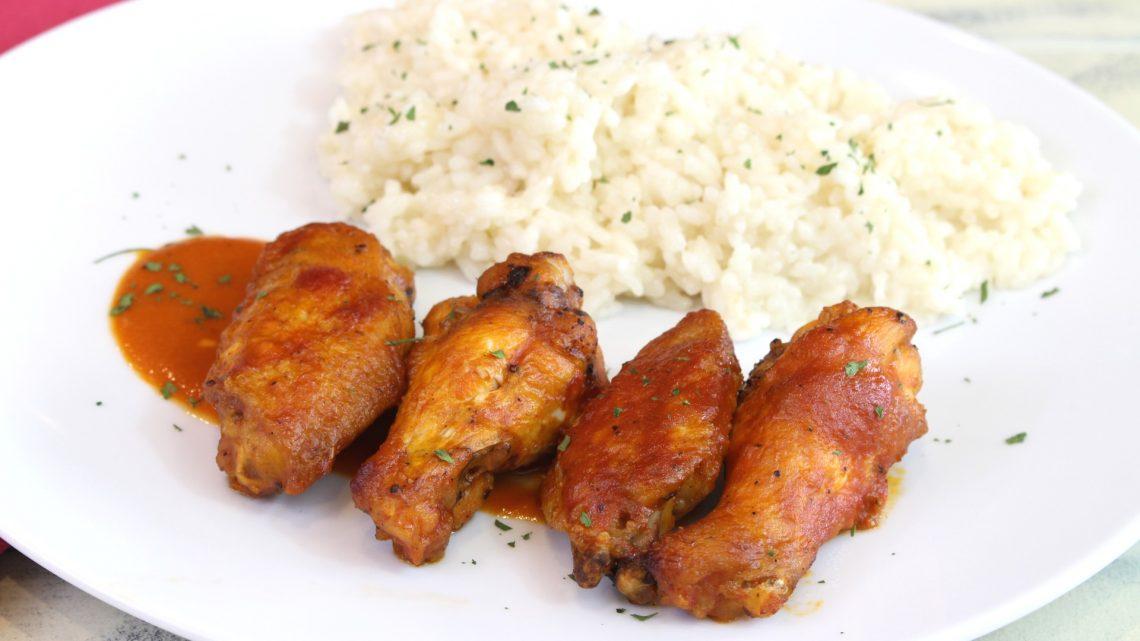 Receta de alitas de pollo adobadas al estilo mexicano