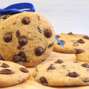 Receta de cookies con pepitas de chocolate