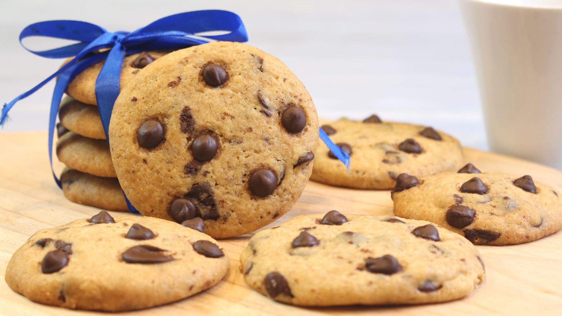 masa de galletas con trozos de chocolate
