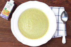 Receta de crema de calabacín 100% vegetal