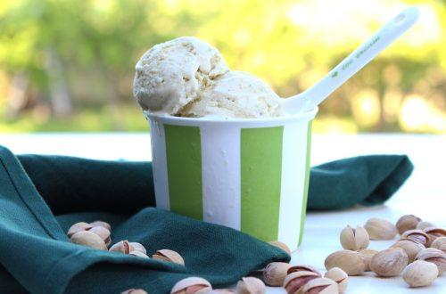 Receta de helado de pistachos con o sin heladera