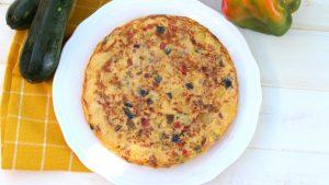 Receta de tortilla paisana