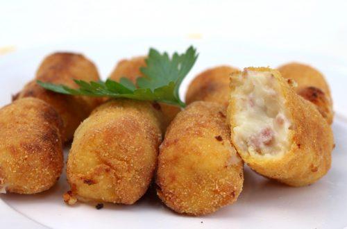 Receta de croquetas de jamón con Mambo