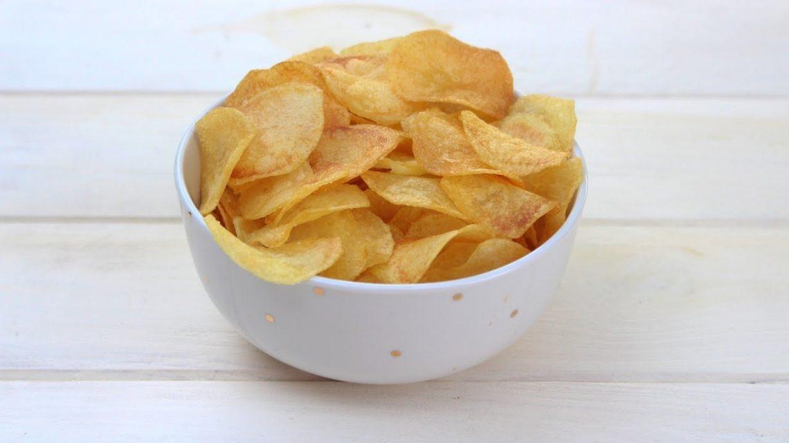 Receta de patatas chips caseras