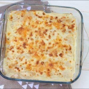 Receta de canelones de mozzarella y jamón york en Thermomix