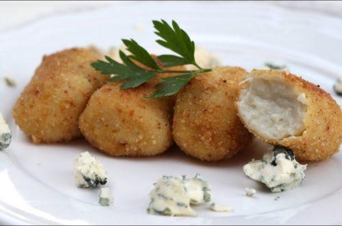 Receta de croquetas de queso azul con MyCook Touch