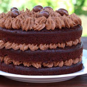 Receta de tarta de chocolate ideal para cumpleaños