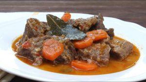 Receta de carne de ternera en salsa con Thermomix