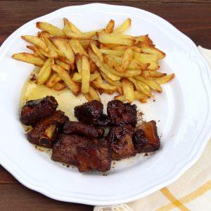 Receta de costillas de cerdo en salsa