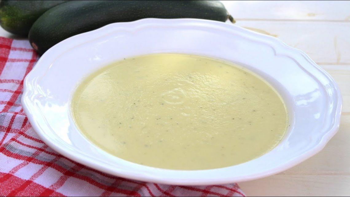 Receta de crema de calabacín y coliflor en Mambo