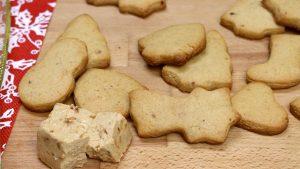 Receta de galletas de turrón con Thermomix