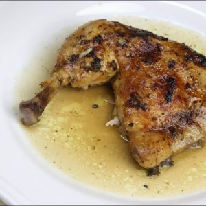 Receta de pollo asado en olla de cocción lenta Chup Chup Matic