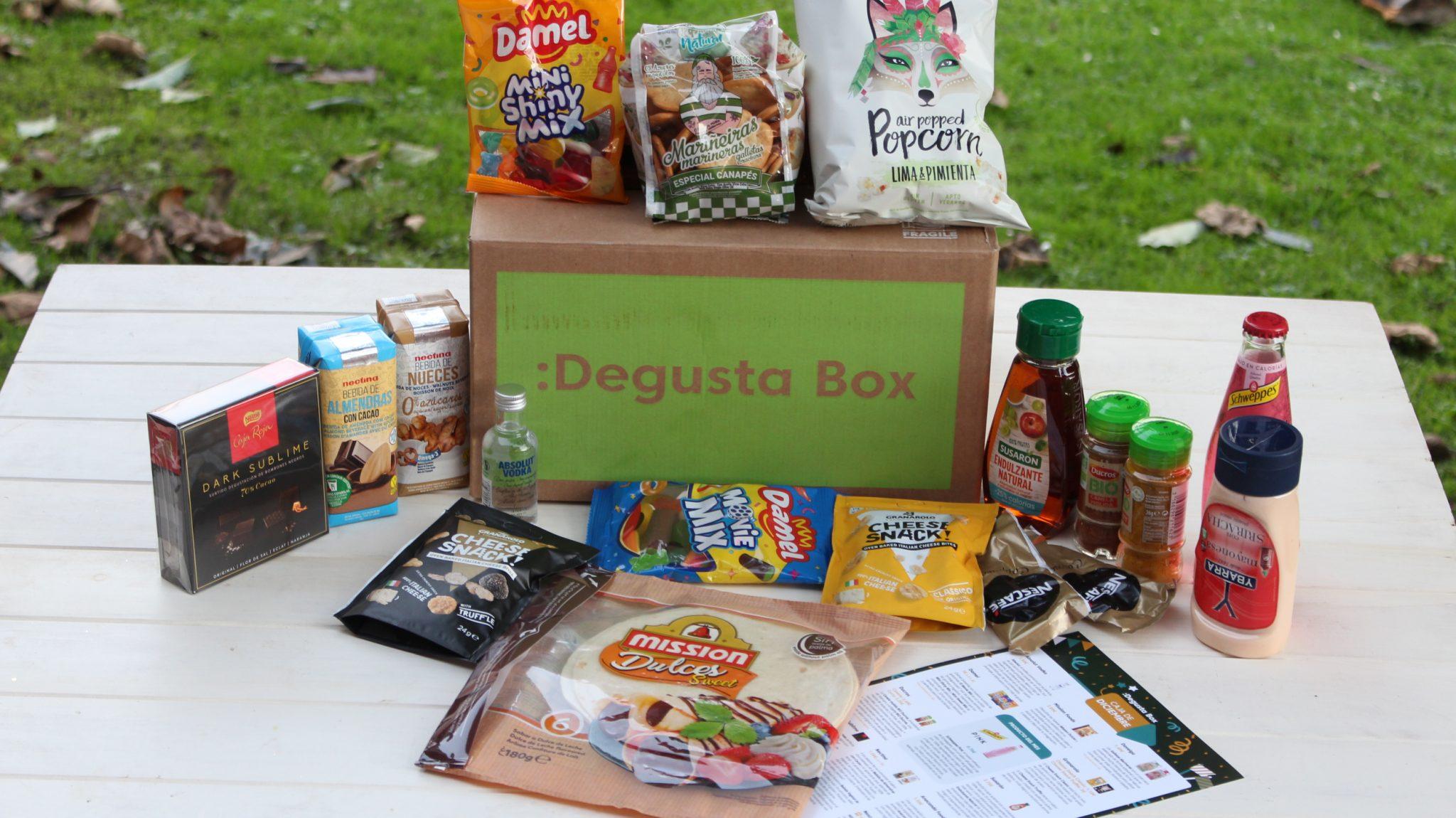 Caja de Degustabox de Diciembre