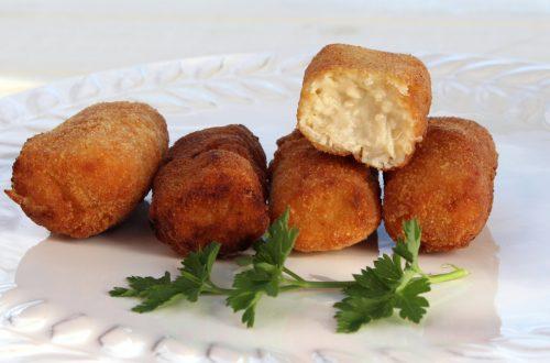 Receta de croquetas de pollo caseras