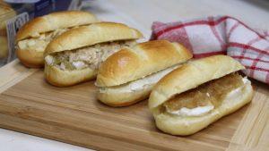 Receta de 4 rellenos para sandwiches fáciles especiales para cumpleaños
