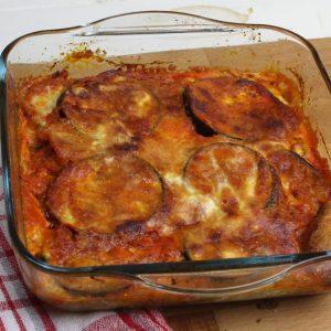 Receta de berenjenas a la parmesana en Mambo