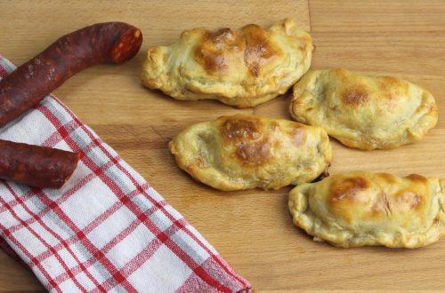 Receta de empanadillas de provolone y chorizo